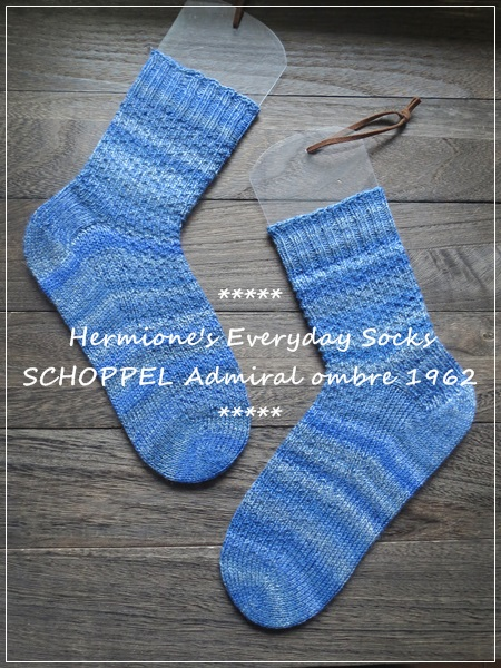 hermiones everyday blue socks